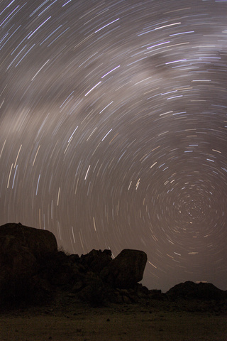 namib desert star trail 320x480