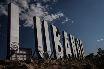 Lubango sign