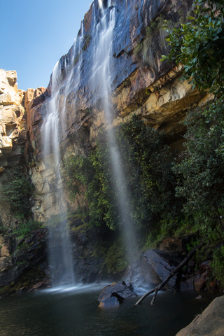 waterfalls near lubango 320x480