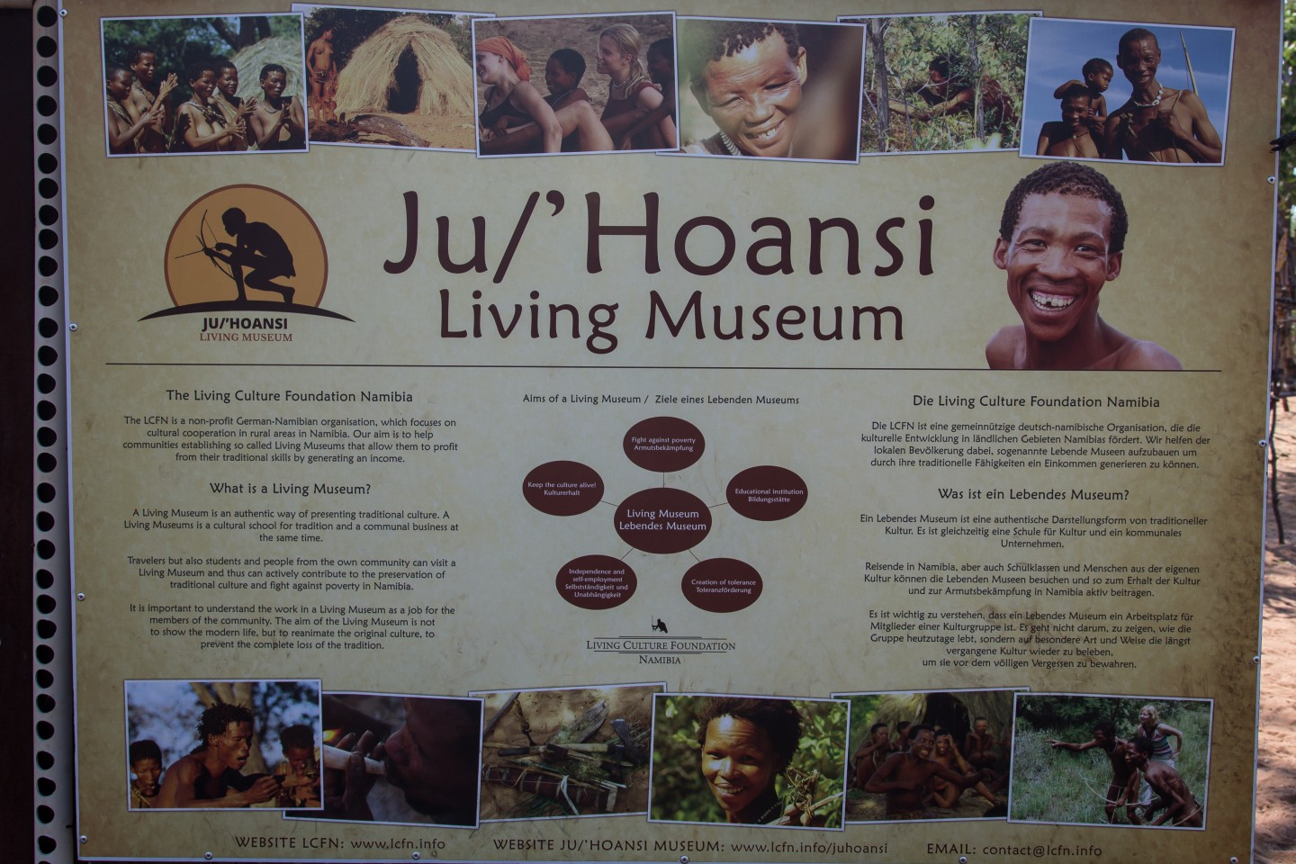 The Ju/\'Hoansi Living San Museum | The Road Chose Me