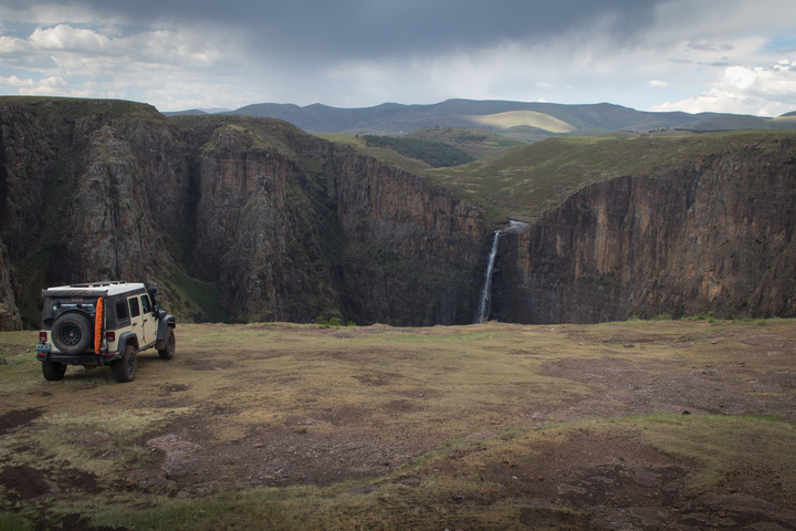 maletsunyane falls and jeep 720x480