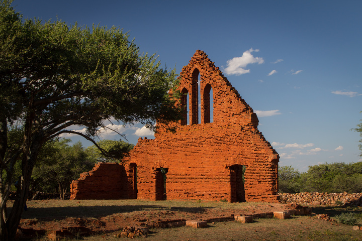palapye church ruins wall 720x480