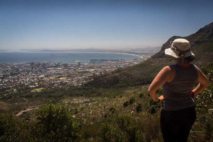table mountain hike way up 720x480