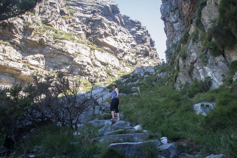 Table Mountain Hike The Road Chose Me Plasttekpp Hiking Up Platteklip Gorge