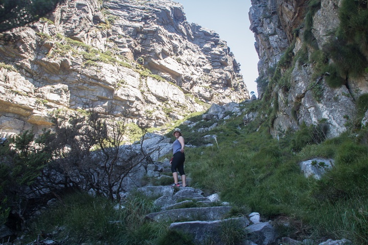 table mountain hiking up 720x480