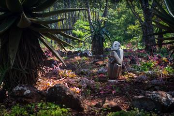 A statue at a botanic gardens