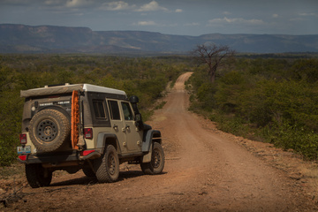 Gravel roads to the South of Lake Kariba