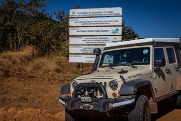 The Jeep enjoying Zambia!