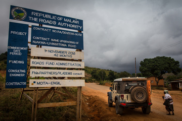 The Jeep in Malawi!