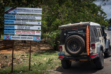 The Jeep in Tanzania!