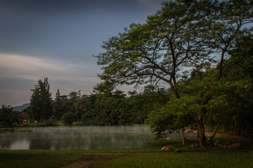 Chimerwa Hot Springs main swimming lake