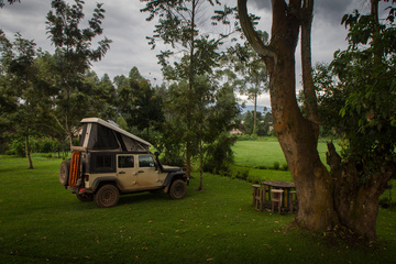 Camping in Fort Portal