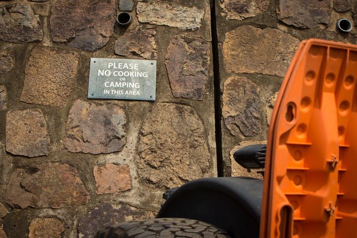 no camping sign 720x480