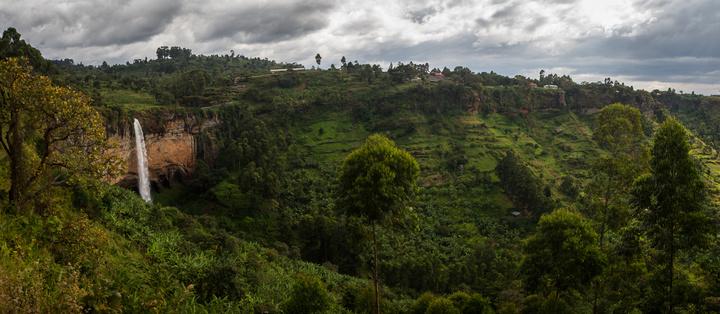 sipi falls full panorama 720x314