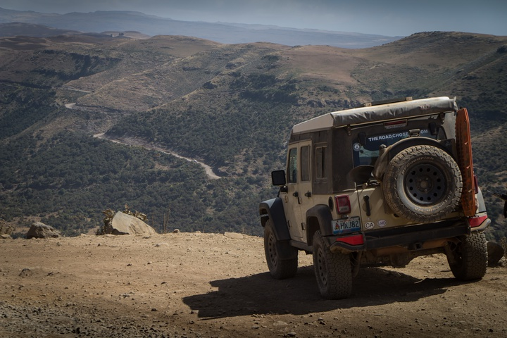 into the simien mountains jeep 720x480