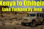 Kenya to Ethiopia via Lake Turkana